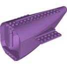 LEGO Plane End 8 x 16 x 7 with Medium Lavender Base (54654)