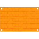 LEGO Plastic Belville Roof 15 x 24 with Shingles Pattern (47485)