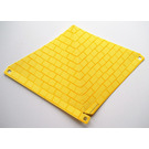LEGO Plastic Sheet Rhomboid with Tiled Roof
