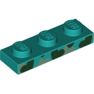 LEGO Plate 1 x 3 with Decoration (3623 / 39397)