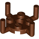 LEGO Plate 2 x 2 Round with 4 Vertical Arms (65738 / 98284)