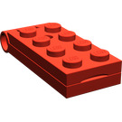 LEGO Plate 2 x 4 Hinge Legs Assembly (3149)