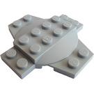 LEGO assiette 6 x 6 x 0.667 Traverser avec Dome (30303)