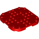 LEGO Plate 8 x 8 x 2/3 Circle with Reduced Knobs (66790)