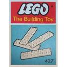 LEGO Plates 2 x 8 Set 427-1