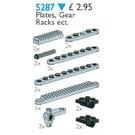 LEGO Plates and Gear Racks Set 5287