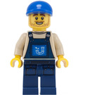 LEGO Plumber Joe Minifigure