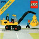LEGO Pneumatic Crane Set 6678