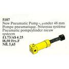 LEGO Pneumatic Pump Cylinder 48 mm Set 5107