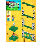 LEGO Point Shooting Set 3412 Instructions