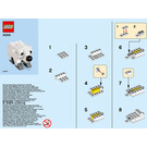 LEGO Polar Bear Set 40208 Instructions