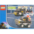LEGO Police 4WD and Undercover Van Set 7032