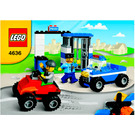LEGO Police Building Set 4636 Instructions