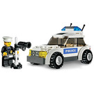 LEGO Police Car - Blue Sticker Version Set