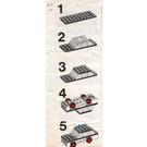LEGO Police Car Set 611-1 Instructions