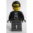 LEGO Police Dog Unit Male Bandit with Black Mask Minifigure