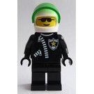 LEGO Police Helicopter Pilot with Sheriff Star Minifigure