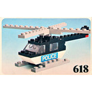 LEGO Police Helicopter Set 618