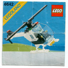 LEGO Police Helicopter Set 6642 Instructions