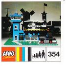 LEGO Police Heliport Set 354 Instructions