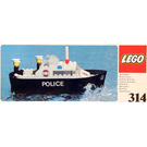 LEGO Police Launch Set 314-1