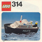 LEGO Police Launch Set 314 Instructions
