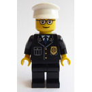 LEGO Police Man Gold Badge and Buttons, Town Minifigure