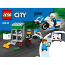 LEGO Police Monster Truck Heist Set 60245 Instructions