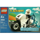 LEGO Police Motorcycle Set 4651 Packaging
