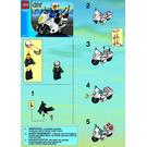 LEGO Police Motorcycle Set 7235-1 Instructions