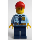 LEGO Police Officer in Red Cap Minifigure