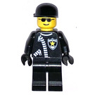 LEGO Police Officer with Black Cap Minifigure