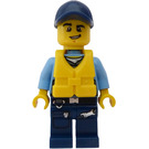 LEGO Police officer with Life Preserver Minifigure