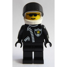 LEGO Police Officer with Logo Helmet Minifigure
