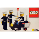 LEGO Police Officers and Motorcycle Set 256-1
