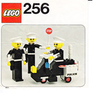LEGO Police Officers and Motorcycle Set 256 Instructions