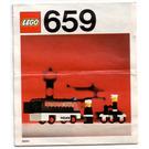 LEGO Police Patrol Set 659 Instructions