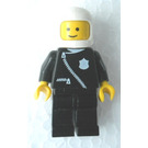 LEGO Police Pilot with Zipper and Badge Minifigure