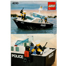 LEGO Police Rescue Boat Set 4010 Instructions