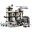 LEGO Police Station With Light-Up Minifig Set 7237-1
