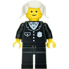 LEGO Police with Suit, White Pigtails Minifigure