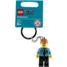 LEGO Policeman Key Chain (853091)