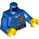 LEGO Policeman Torso with Golden Badge (76382)