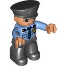 LEGO Policeman with badge Duplo Figure