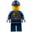 LEGO Policeman with Dark Blue Cap Minifigure