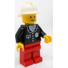 LEGO Policeman with Fire Helmet Minifigure