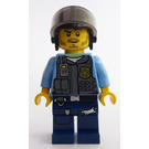 LEGO Policeman with Riot Helmet Minifigure