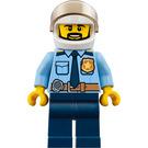 LEGO Policeman with White Helmet Minifigure