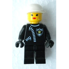 LEGO Policewoman with Zipper Minifigure