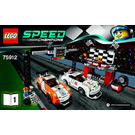 LEGO Porsche 911 GT Finish Line Set 75912 Instructions